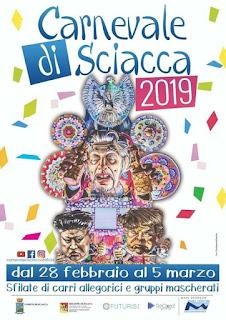 Il programma completo del Carnevale di Sciacca, dal 28 febbraio al 5 marzo 2019