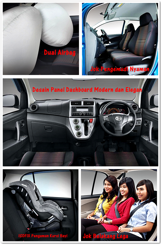Interior Dashboard, Panel, Jok Pengemudi dan Penumpang New Sirion 2015