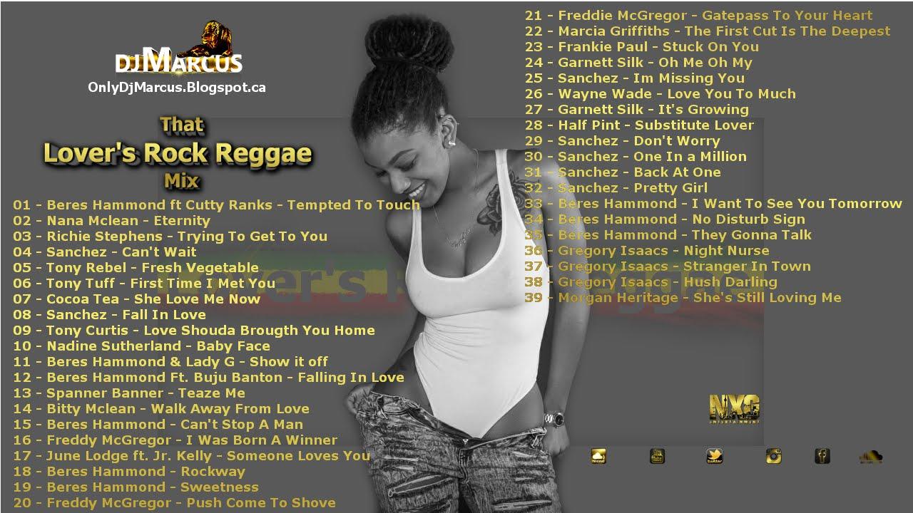 DJ Marcus NXG: Lover's Rock Reggae Mix @DJ Marcus
