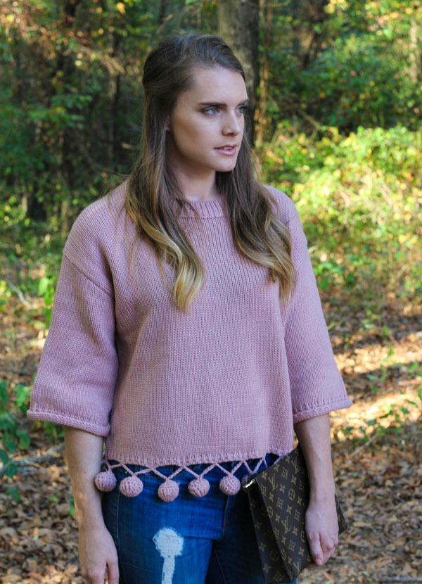 Chicwish Pom Pom Sweater