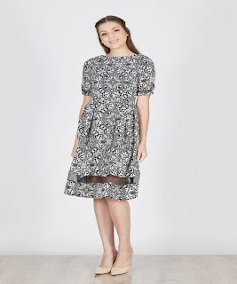 dress pendek dari batik
