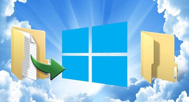 Windows 10 da Öğeleri Kopyalama Yada Taşıma Yeri Nasıl Seçilir