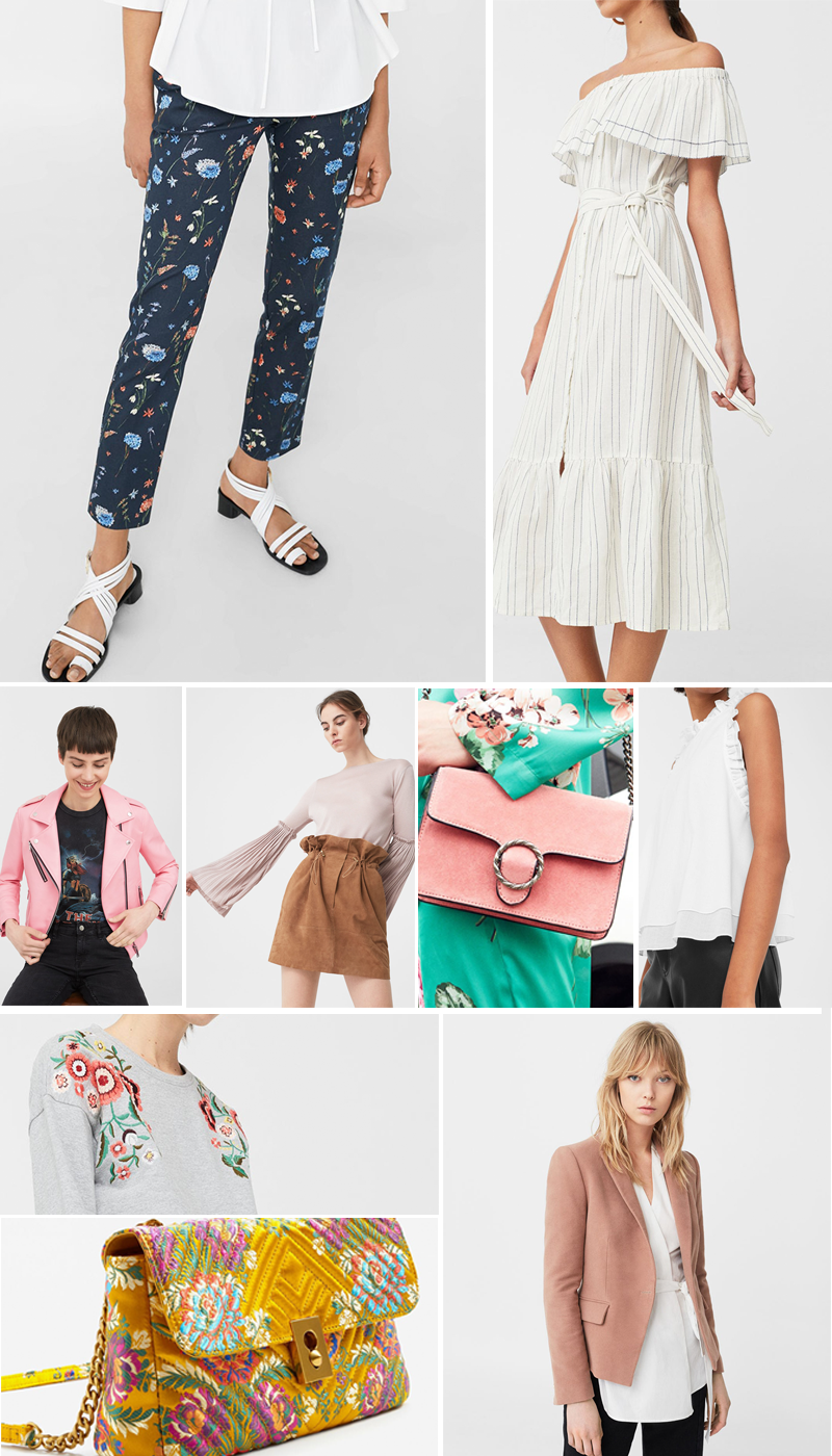 Mango High Street Best Sellers Spring Summer 2017 | Colours and Carousels - Scottish Lifestyle, Beauty and Fashion blog