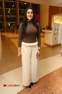 Actress Regina Candra Pos at Asian Para Badminton Championship Winners Felicitation Ceremony  0103.JPG