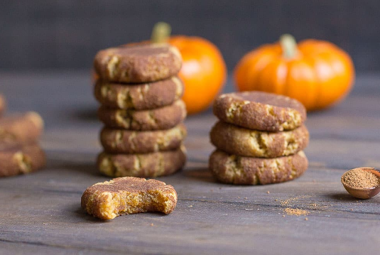 GRAIN-FREE PUMPKIN SNICKERDOODLES #pumpkin #dessert