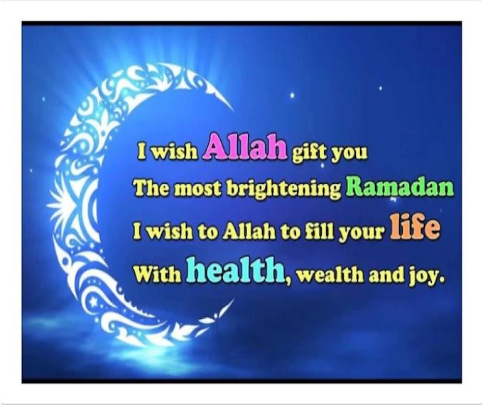 Best Wishes of Ramzan Eid Mubarak Wishes, SMS, Greeting card, DP in English