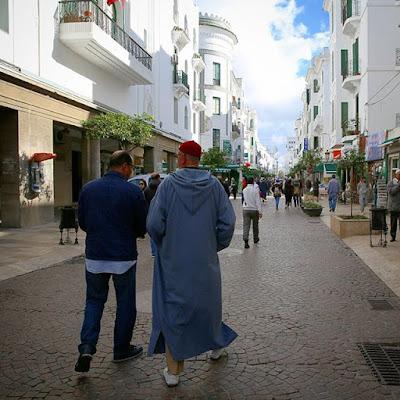 Paseando por la Avenida Mohamed V de Tetuán
