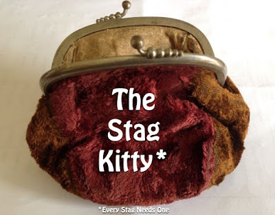 Ladies purse as the stag kitty