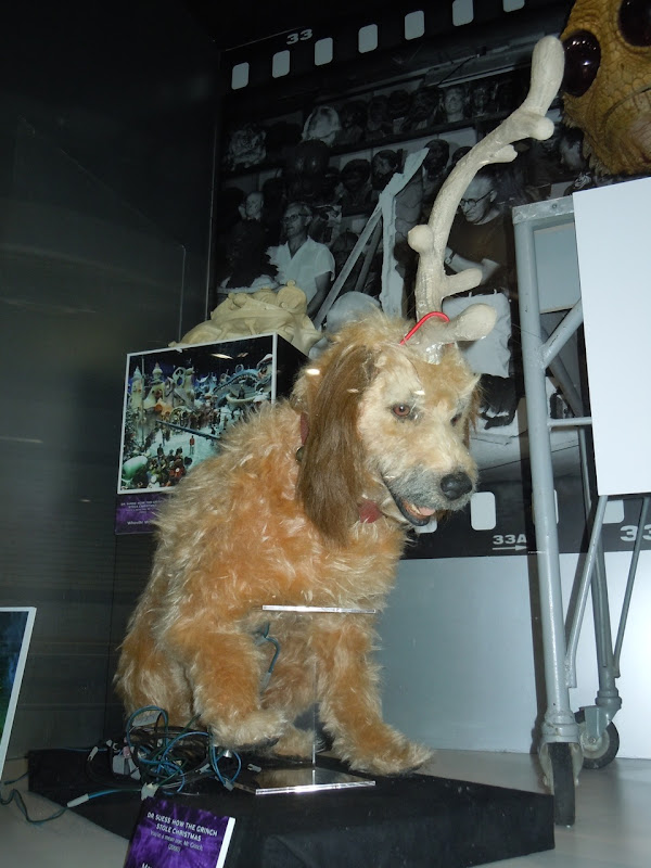 Max animatronic dog from The Grinch on display ...