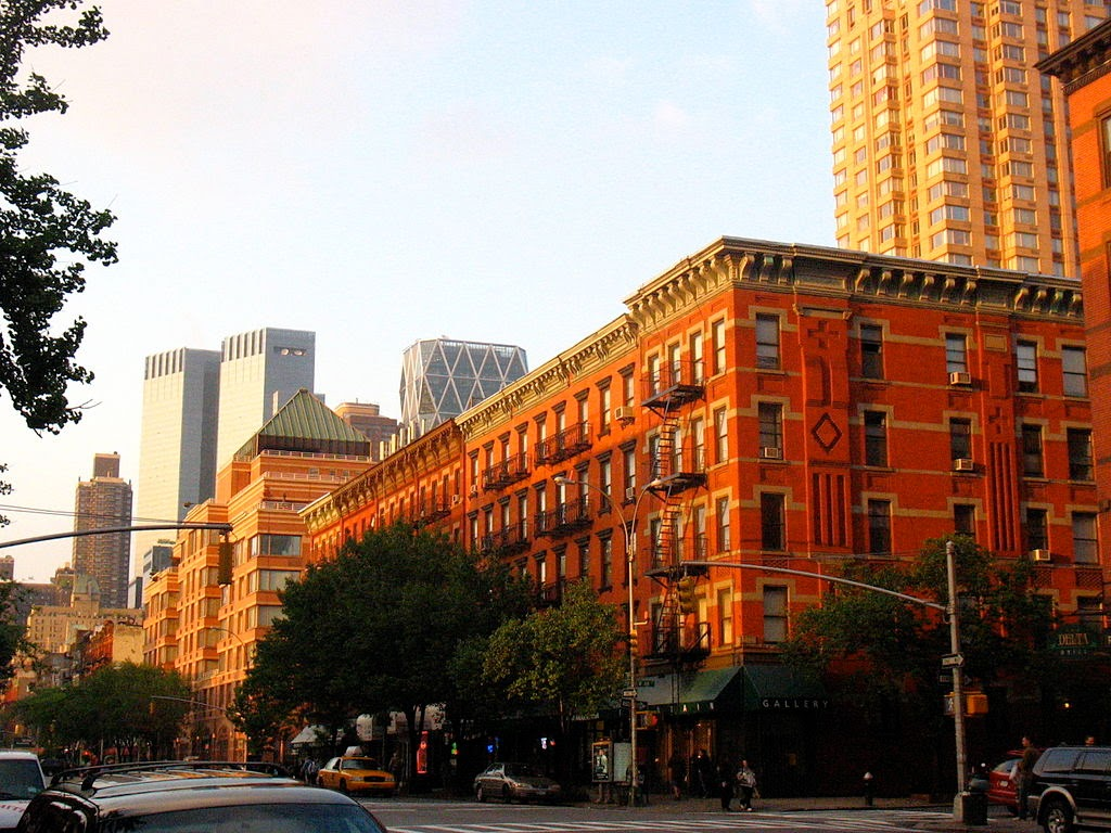 Manhattan's Hell's Kitchen neighborhood
