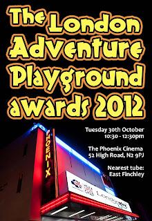The London Adventure Playground Awards 2012