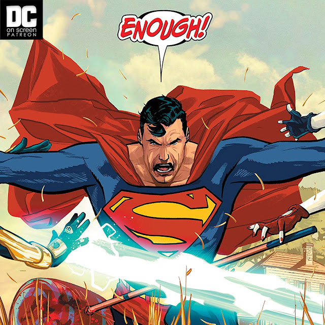 Superman saying Enough