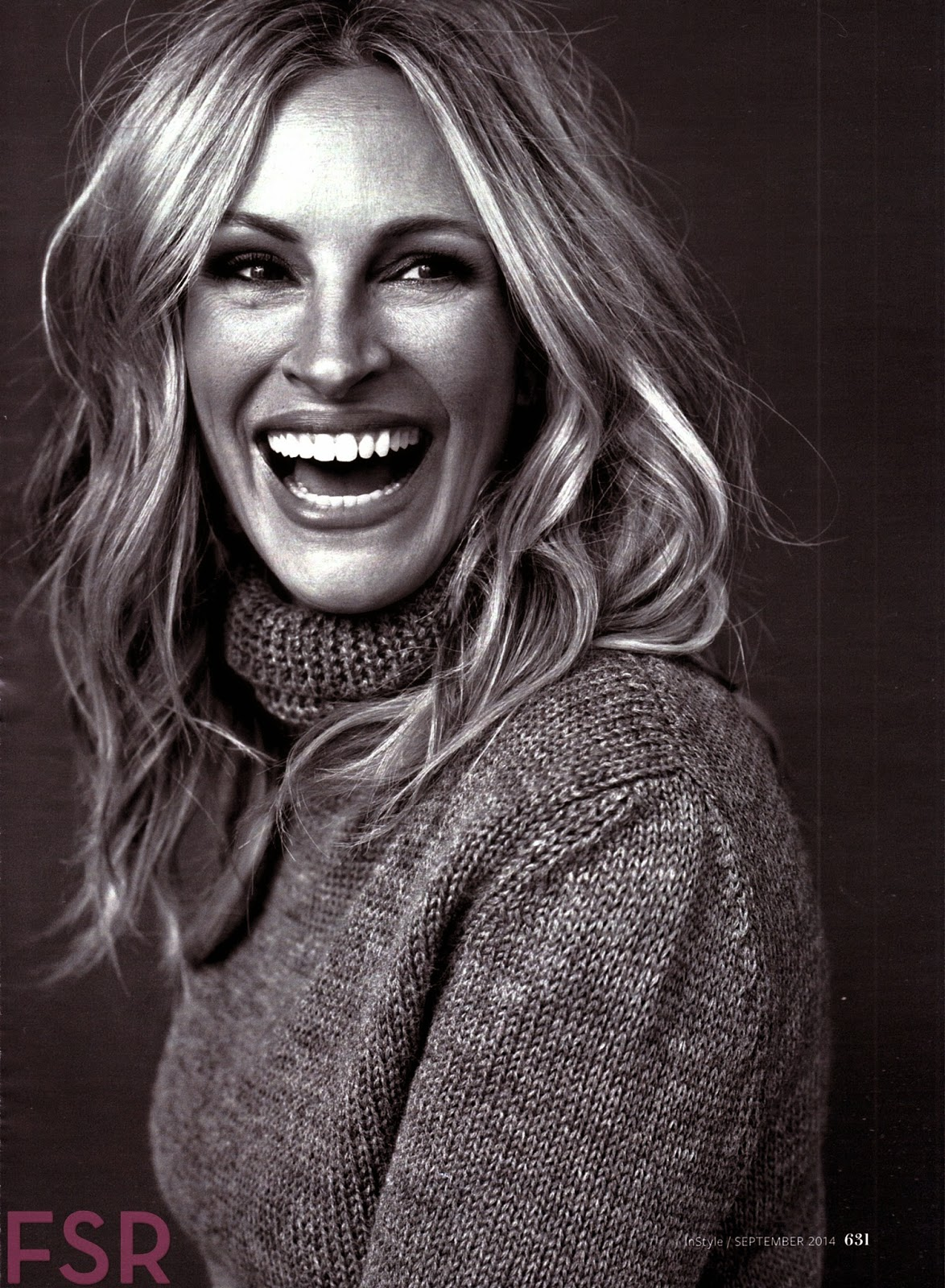 Julia Roberts So Devastated By Half Sister Nancy Motes S: Julia Roberts For InStyle US September 2014