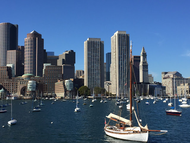 A view of Boston Harbor