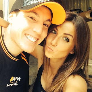 ALEIX ESPARGARÓ AND HIS LOVELY WIFE LAURA MONTERO
