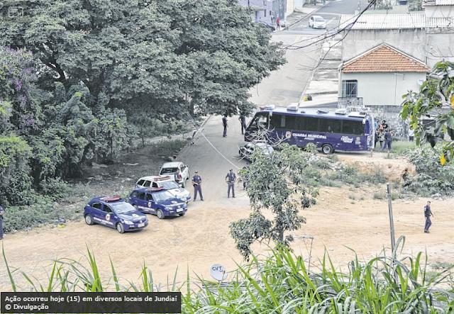 Guarda Municipal de Jundiaí faz operação para identificar mendigos que tenham problemas com a justiça