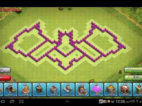 Base Coc Th 6 Kelelawar 7