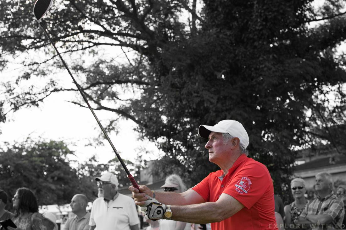 Gareth Edwards golf