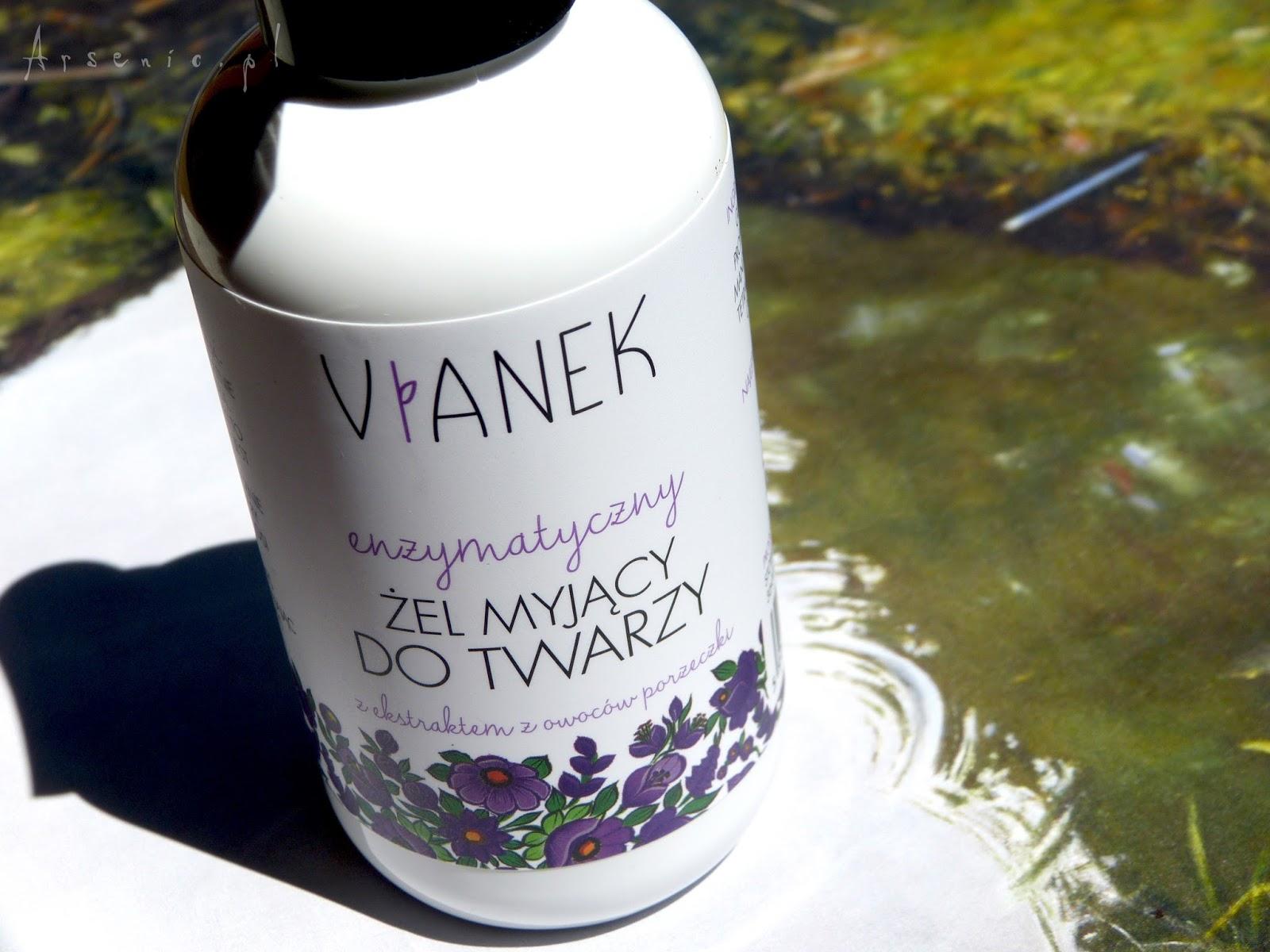 Vianek - enzymatyczny żel myjący z ekstraktem z owoców porzeczki