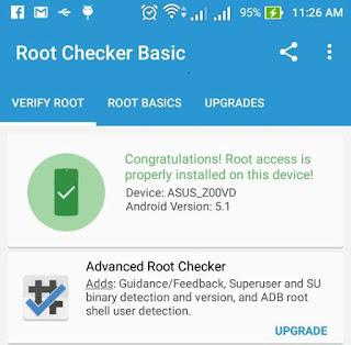 Root ASUS ZenFone GO Z00VD / ZC500TG, ZB452KG, ZB551KL, ZC451TG, ZB450KL dan X014d