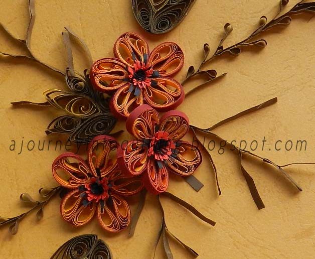 A Journey Into Quilling Amp Paper Crafting Quilled Leaf