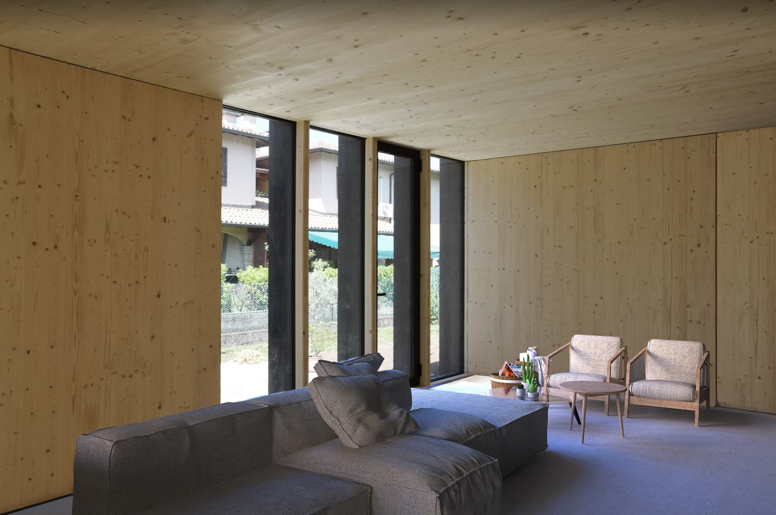 Tube house studio di architettura a verona case passive in legno e ristrutturazioni minimal for Costruire un nuovo processo di prestito a casa