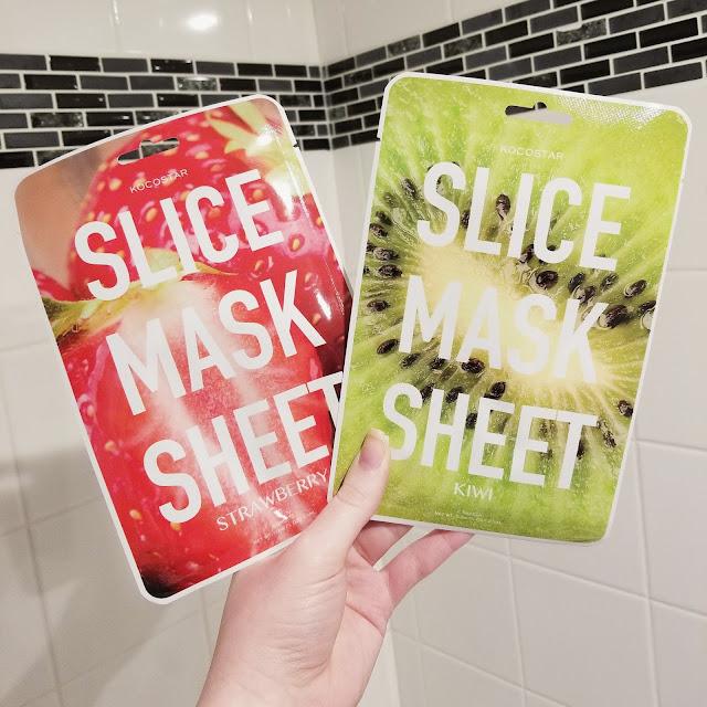 fruit slice mask