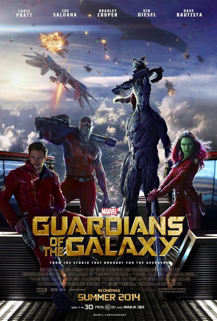 Poster 3: Guardians of the Galaxy