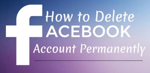 how to delete facebook acount