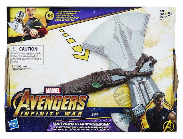 Toy Fair 2018 Hasbro Marvel Avengers Infinity War Thor's Stormbreaker Hammer