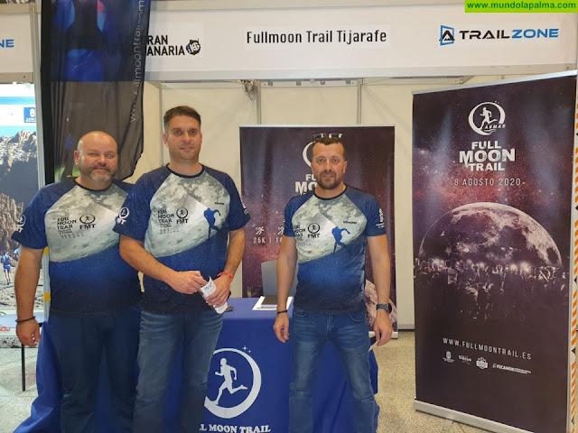 La Full Moon Trail Naviera Armas se promociona en la feria de Transgrancanaria