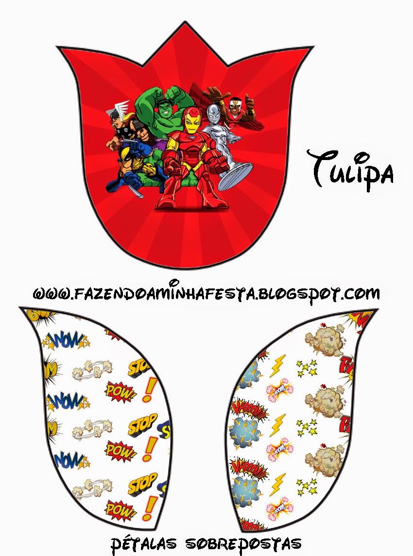 Marvel Superheroes Squad: Free Printable Invitations. | Oh My Fiesta ...