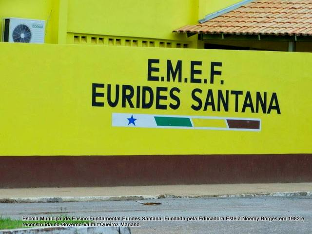 Resultado de imagem para escola municipal eurides santana parauapebas