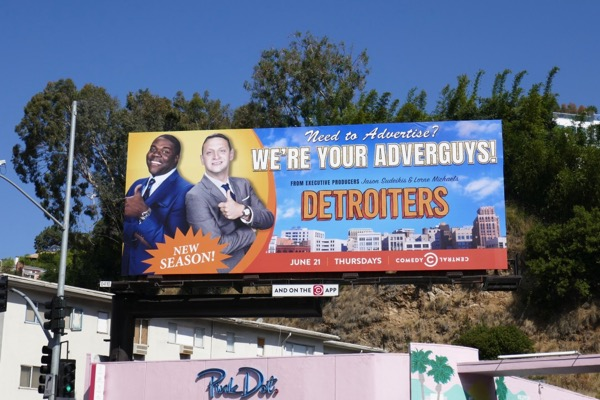 Detroiters season 2 billboard