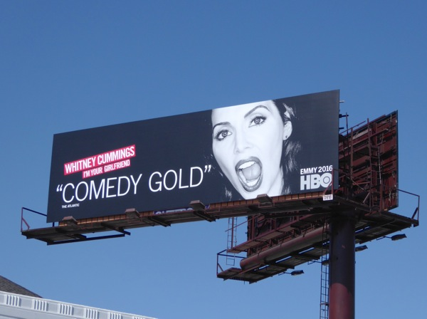 Whitney Cummings HBO comedy special Emmy 2016 FYC billboard