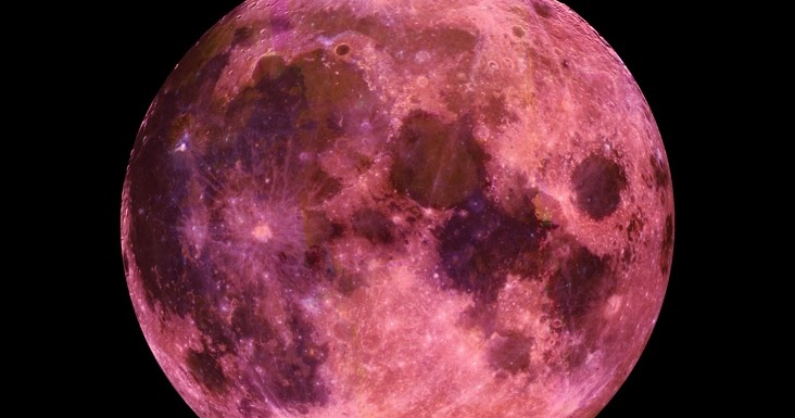 Space Full Pink Moon Tonight April 11 2017