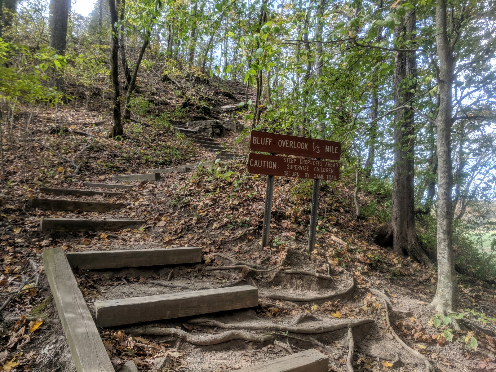 Bluff Overlook Trail at Harpeth River State Park | Exploring This ...