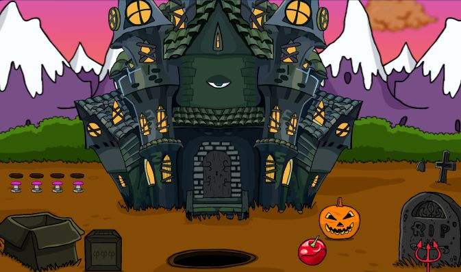 Play Halloween Cat Rescue