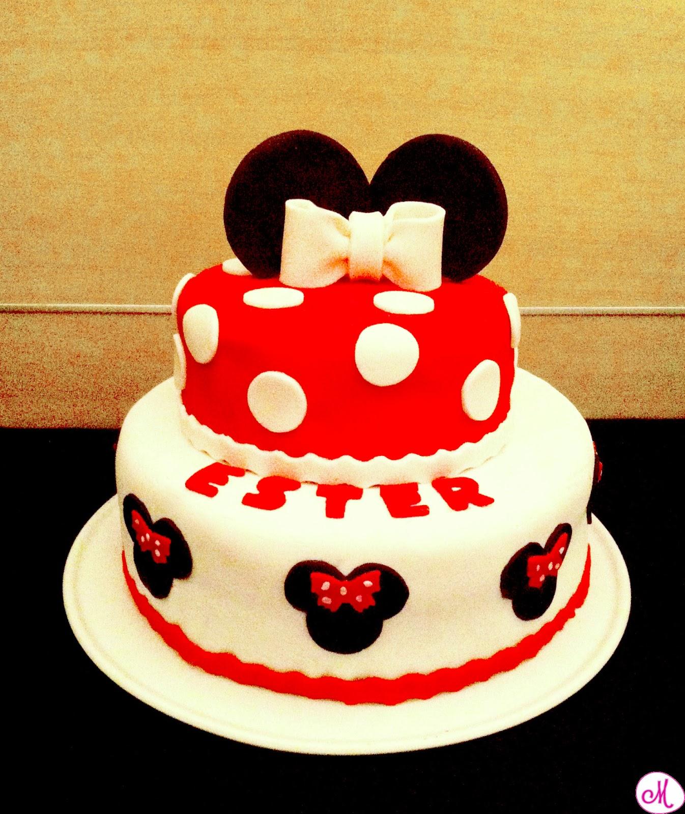 Ci pensa mamma la torta di minnie for Decorare la stanza di minnie e topolino