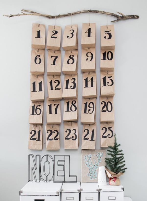 10 calendarios de adviento diy