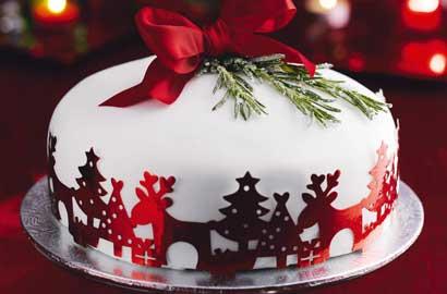 Christmas Cake Photos