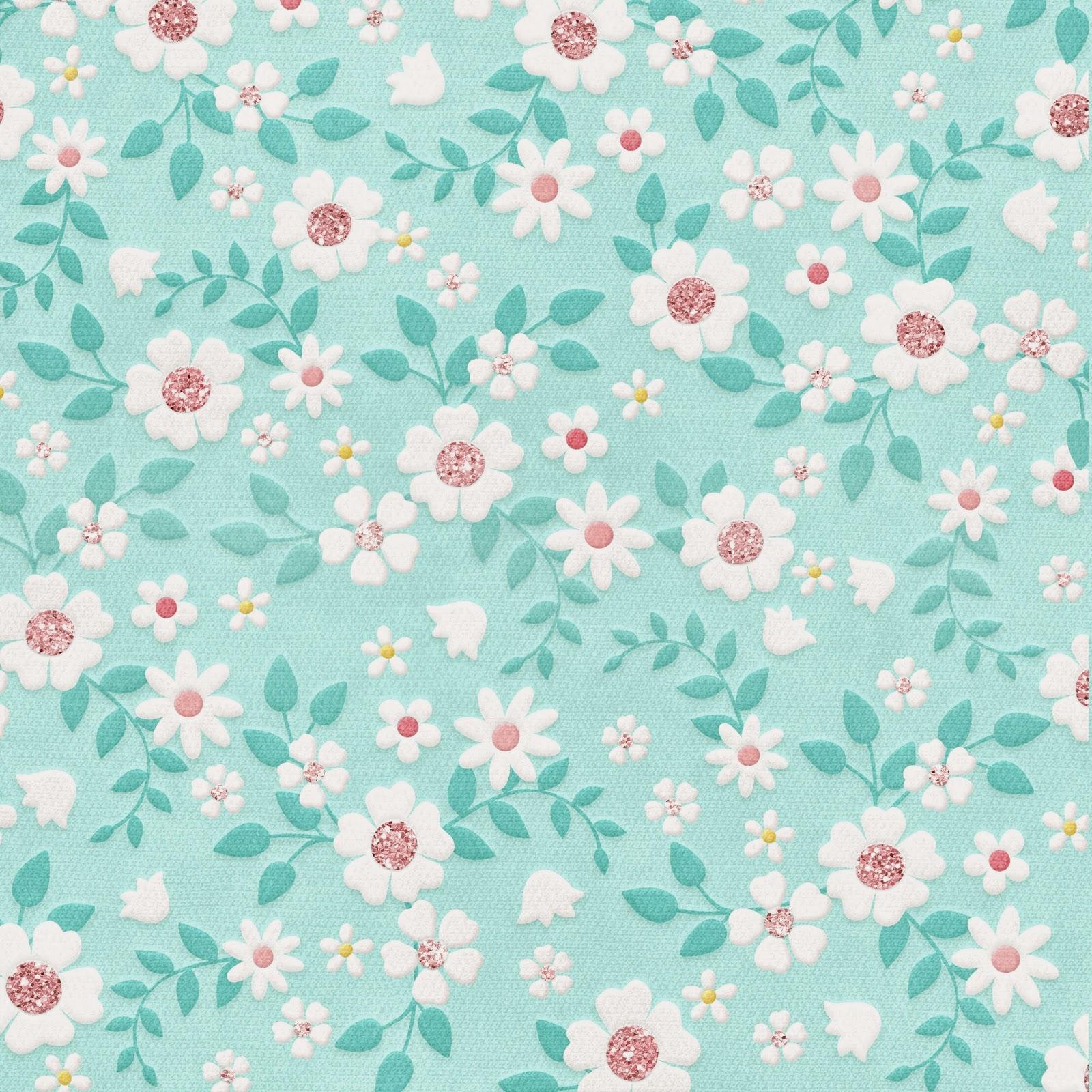 pretty floral paper