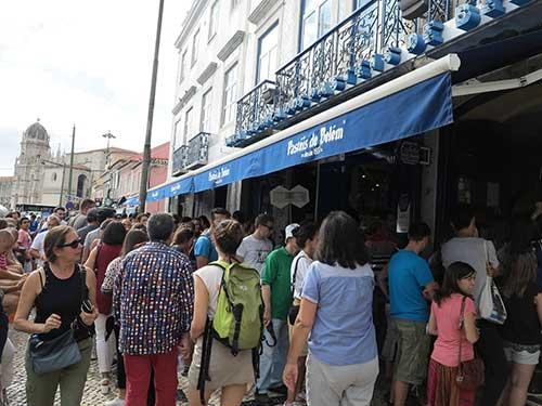 Pasteis de Belem, Lisbon.