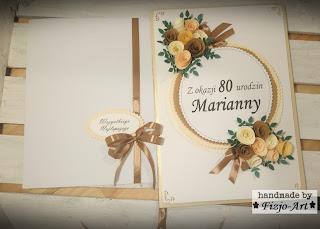 Na 80-urodziny- Karta urodzinowa
