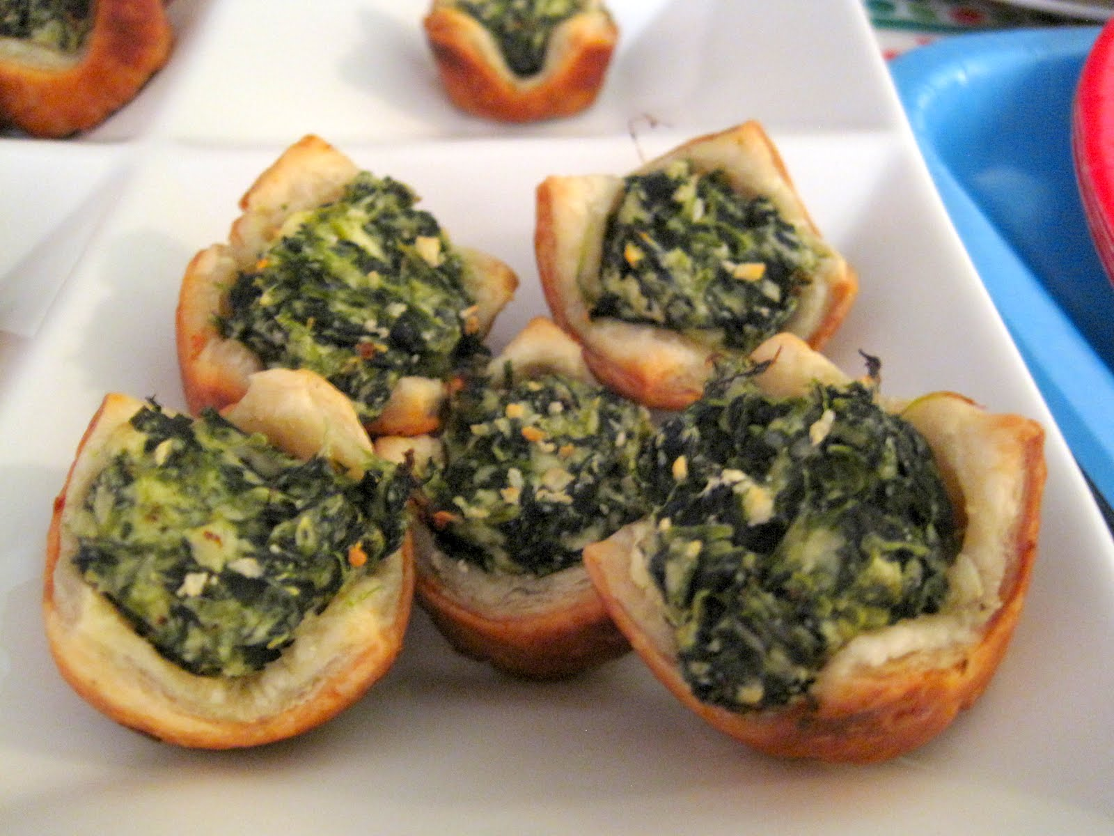 Baking in the 'Burg: Spinach and Feta Puff Pastry Bites