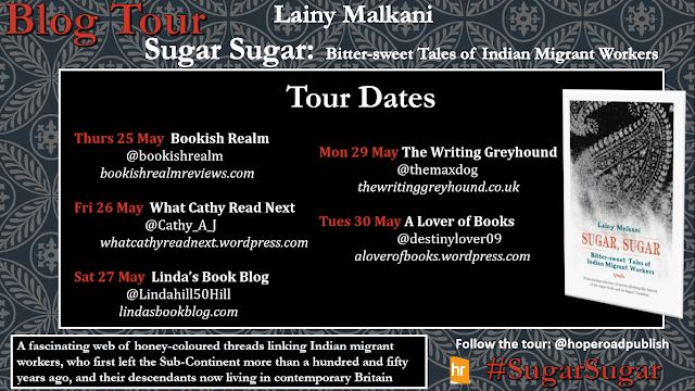 blog-tour, lainy-malkani, sugar-sugar, banner
