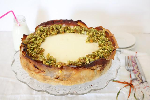 IMG 3326 - עוגת גבינה בעלי פילו