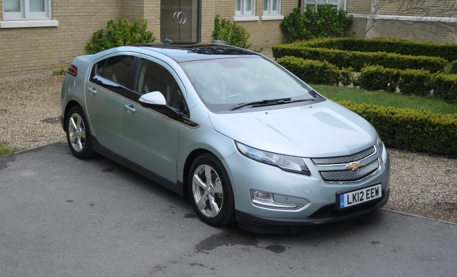 Chevrolet Volt front view