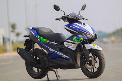 Yamaha Aerox 155 VVA Livery Movistar