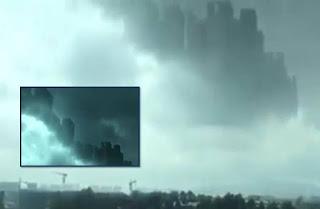 Város képe jelent meg az égen Kínában - Hologramm? Blue Beam? Párhuzamos univerzum?